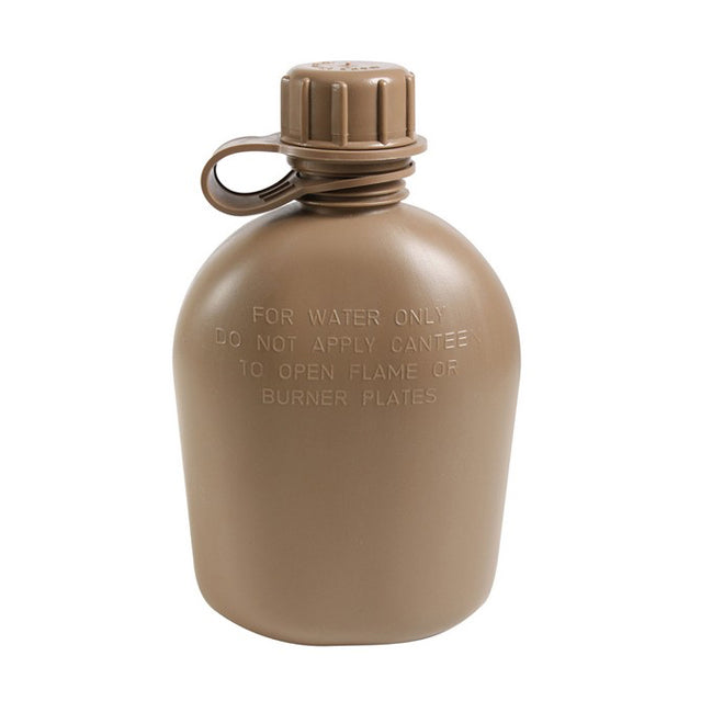 U.S. Military 1 Quart Canteen, Coyote Brown
