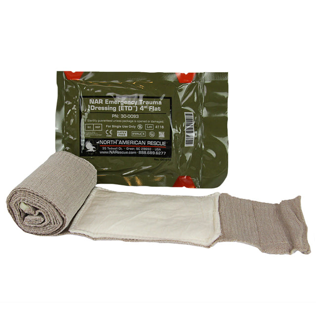 U.S. Army Emergency Trauma Dressing