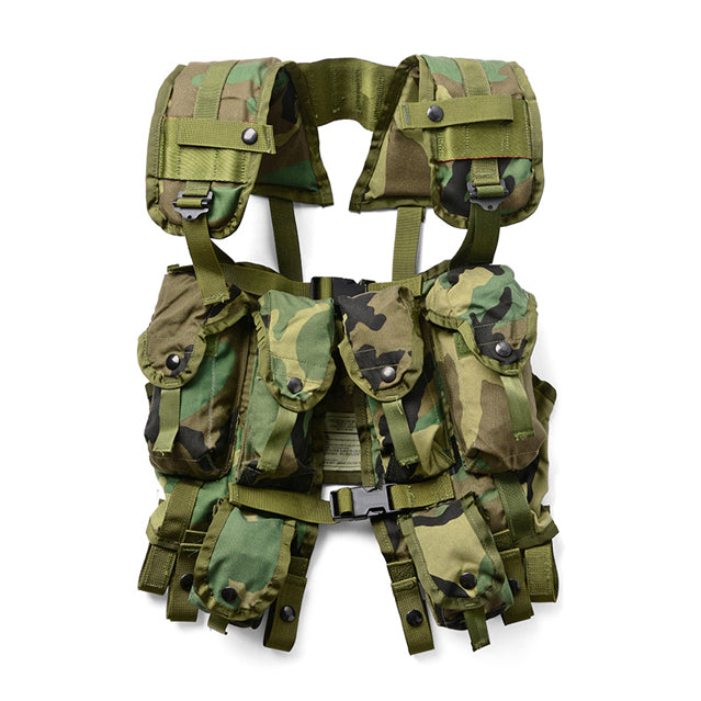 U.S. Military Load Bearing Vest LBV-88, Woodland