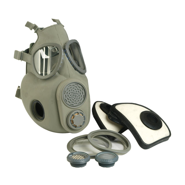 M-10 CBRN Respirator Gas Mask & Sealed Filters