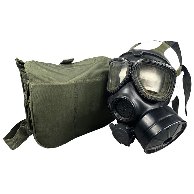 U.S. GI M40-A1 Gas Mask & Sealed MSA CBRN Filter