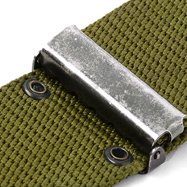 U.S. GI Pistol Belt, LC-2 Gray Buckle
