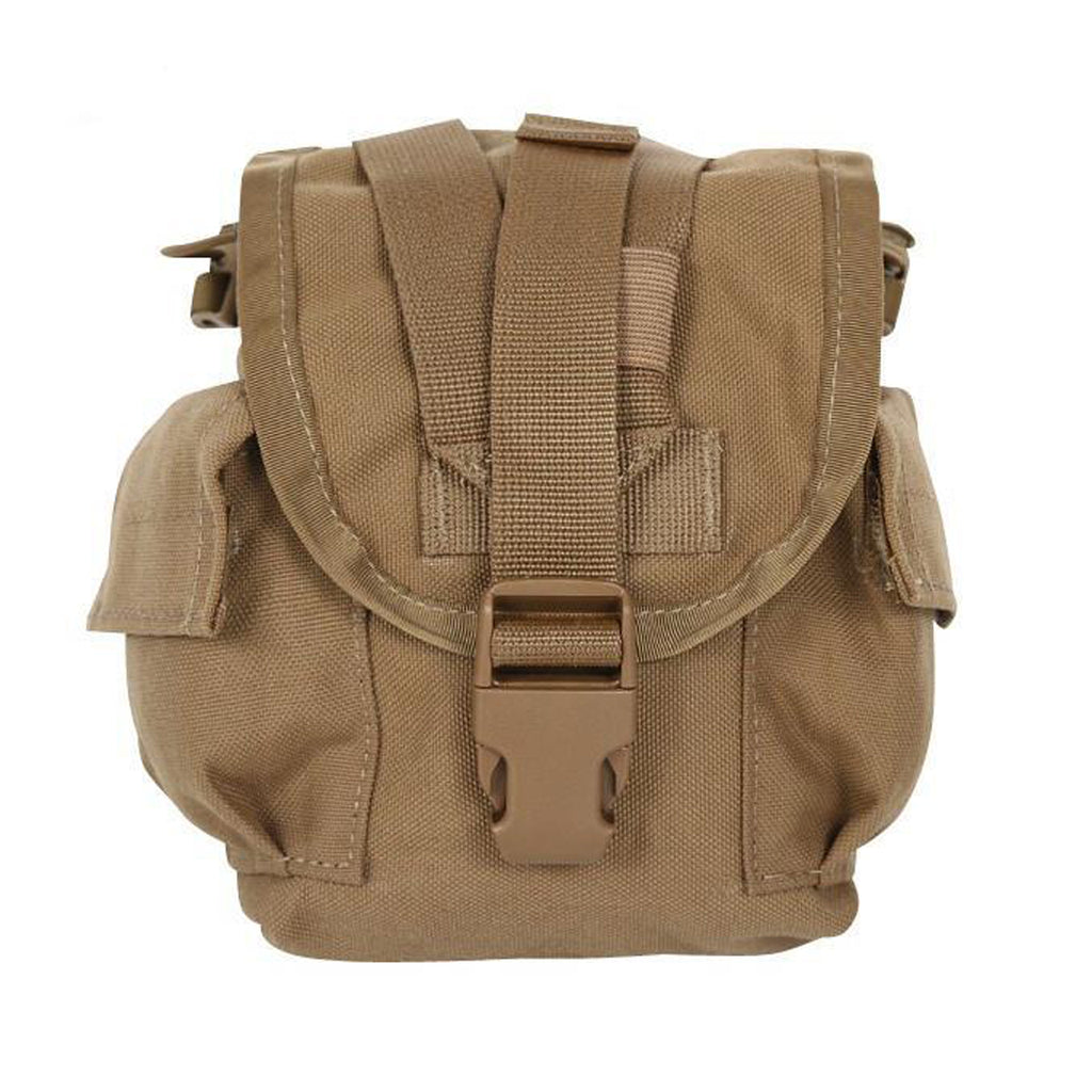 U.S. Marine Corps Canteen Cover Pouch, Coyote Brown