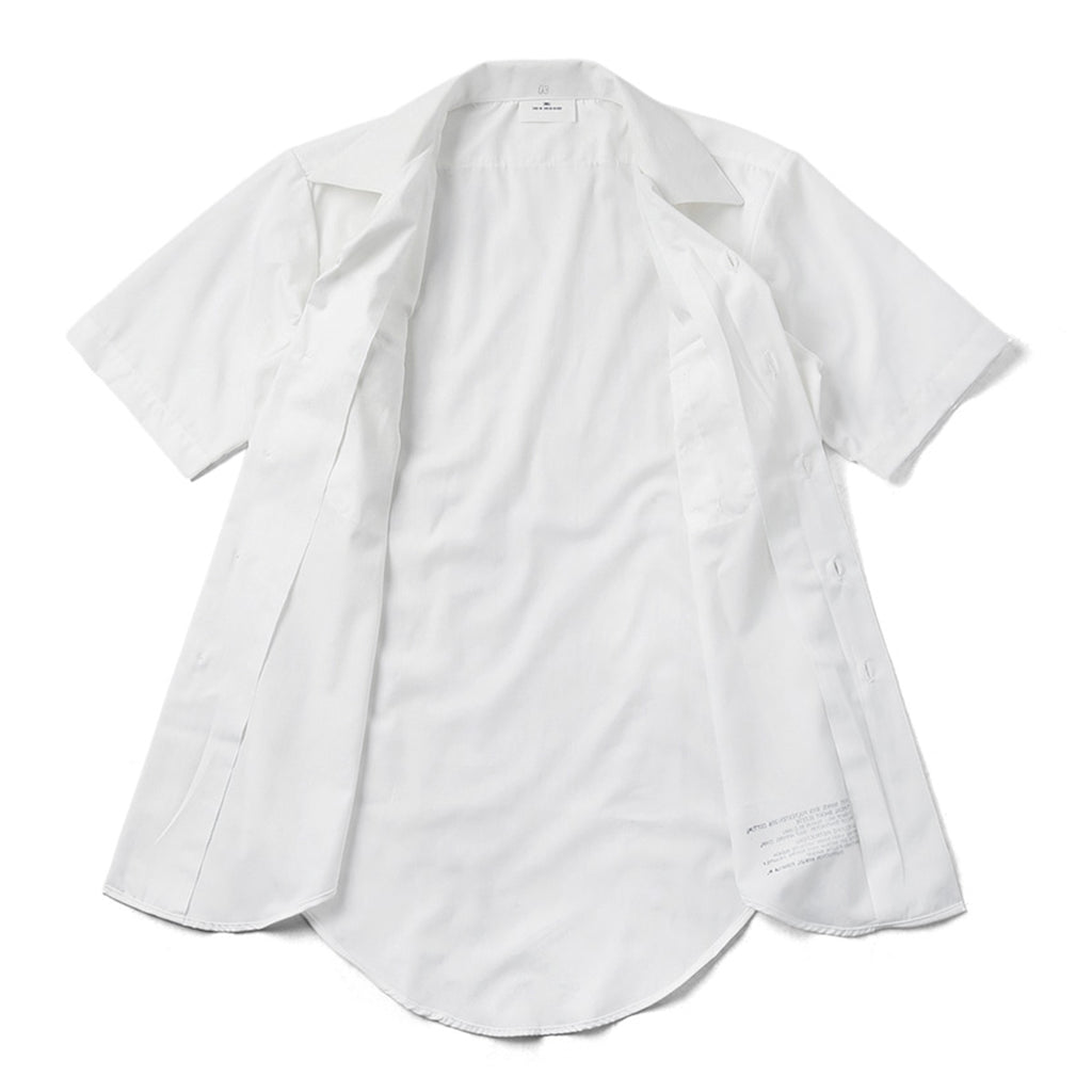 U.S. Navy White Enlisted Dress Shirt, Short Sleeve