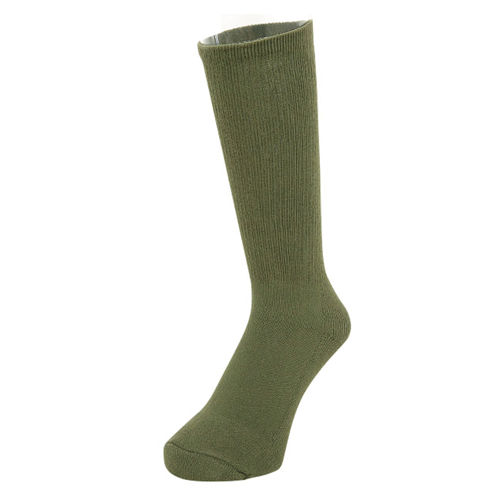 U.S. GI Antimicrobial Boot Socks - Black, OD Green, Coyote Brown