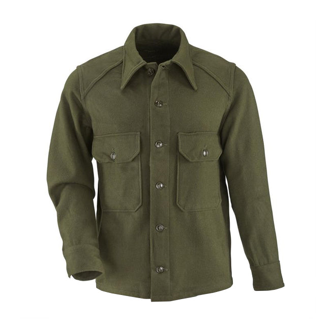 U.S. GI Wool Button-up Shirt