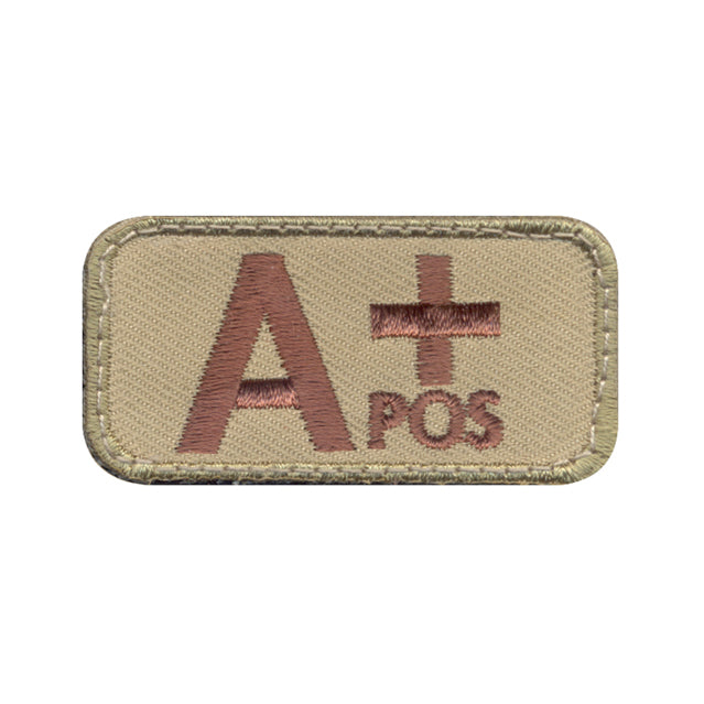 A Positive Blood Type Patch