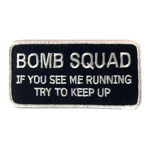Bomb Squad Keep Up Patch