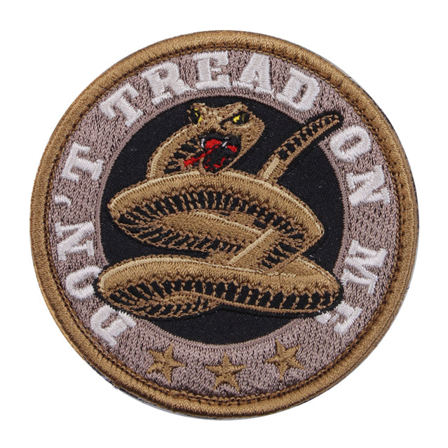 Don't Tread On Me Patch, Round