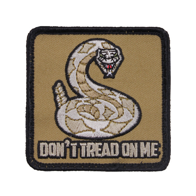 Don't Tread On Me Patch, Square