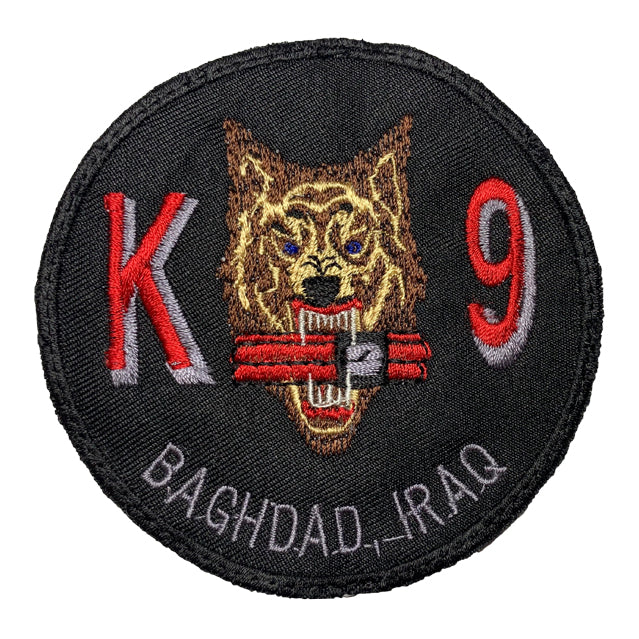 K9 EOD Baghdad Iraq Patch