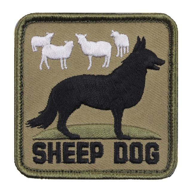 Sheep Dog Patch, Square