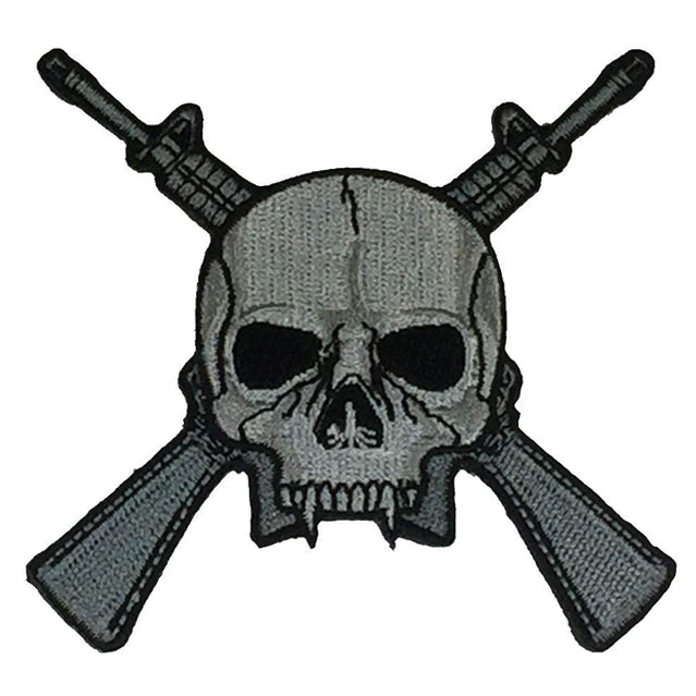 Skull and Rifles Patch