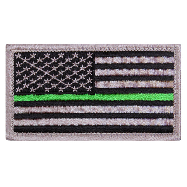 Thin Green Line Flag Military Patch