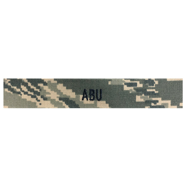 Custom U.S. Air Force ABU Digital Name Tape