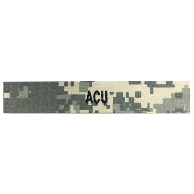 Custom U.S. Army ACU Digital Name Tape