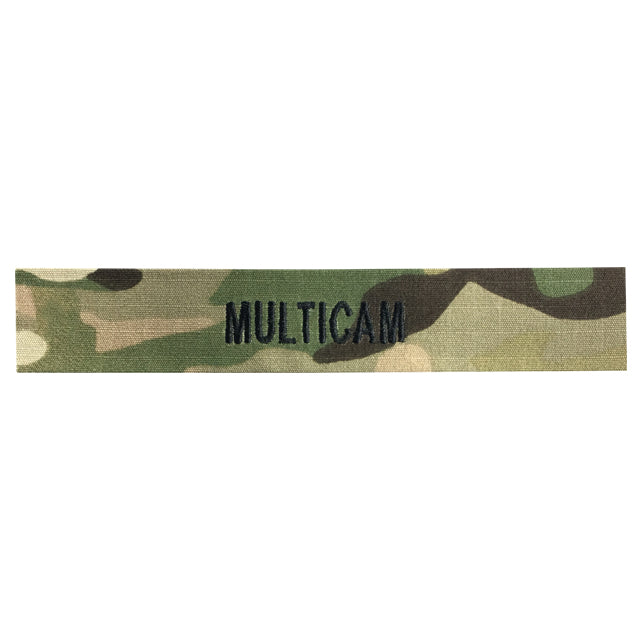 Custom Multicam Name Tape