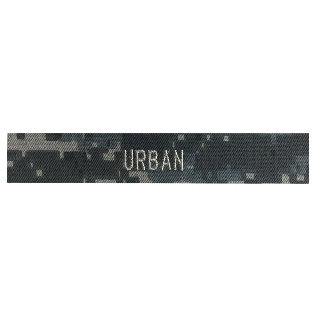 Custom Urban Digital Name Tape