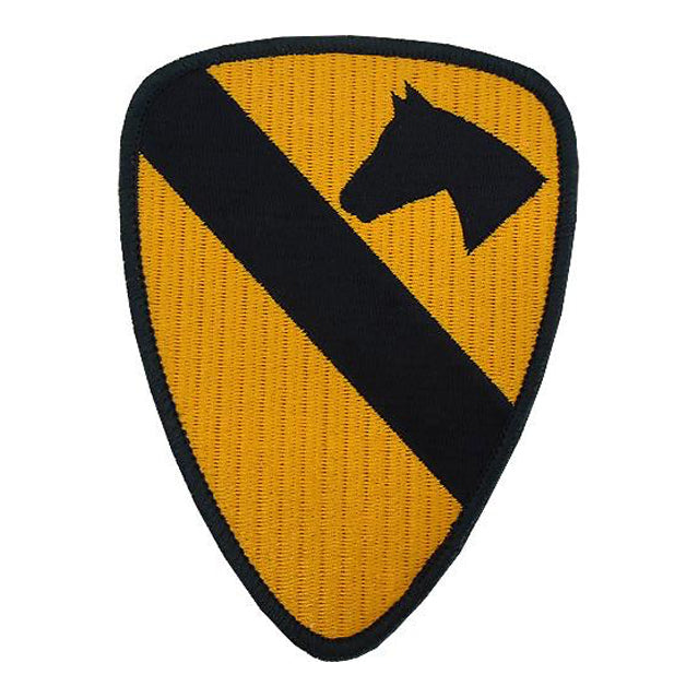 1st Cavalry Division Patch, Color