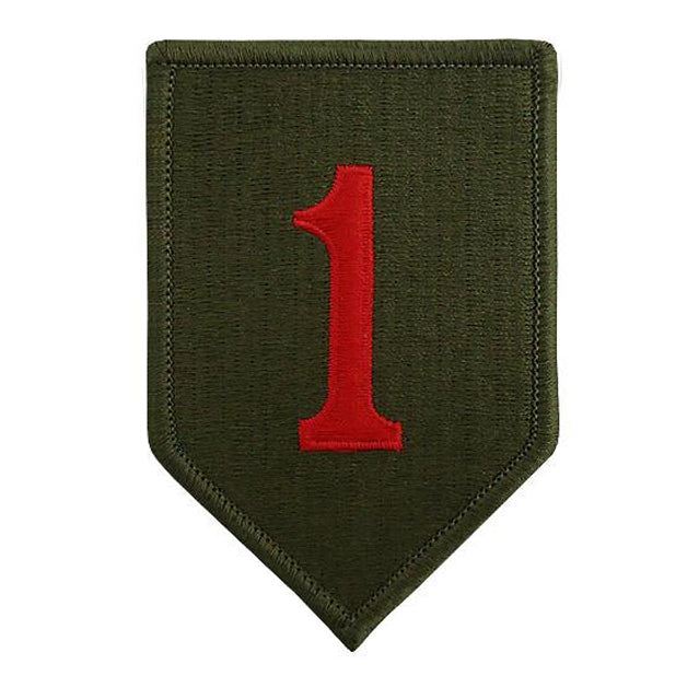 1st Infantry Division Unit Patch, Color