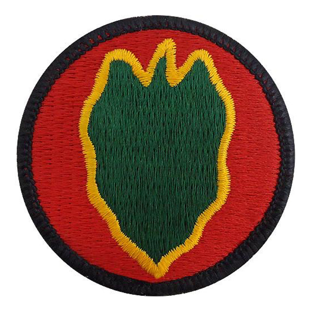 24th Infantry Division Patch, Color