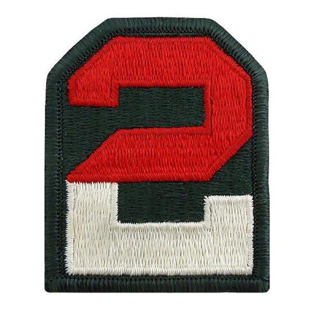 2nd Army Unit Patch, Color