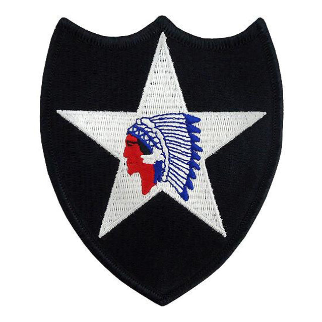 2nd Infantry Division Patch, Color