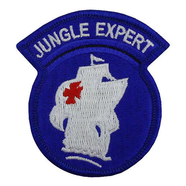 Jungle Expert Patch, Color