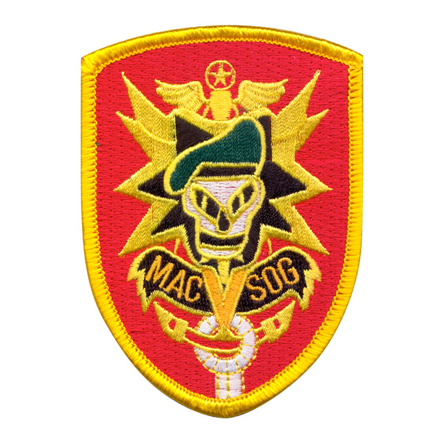 U.S. Army MAC V SOG Patch, Color