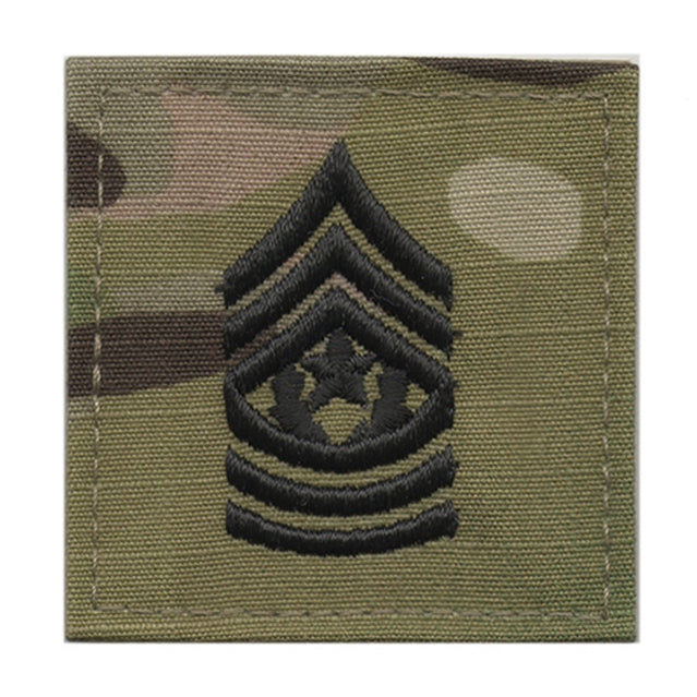 U.S. Army Command Sergeant Major E-9 Rank, OCP or ACU