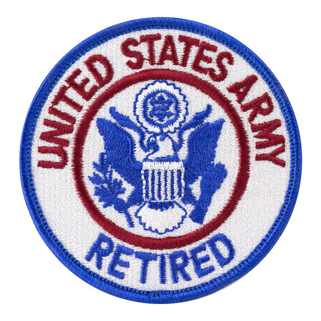 U.S. Army Retired Patch, Color