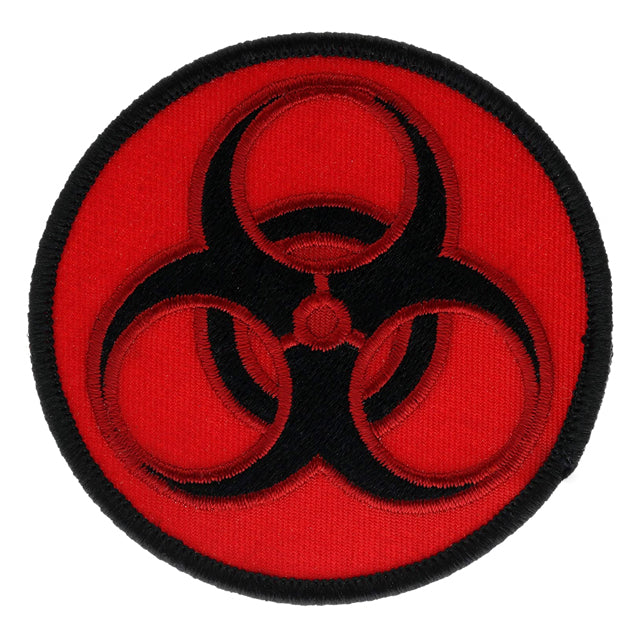 Biohazard Toxic Red & Black Patch