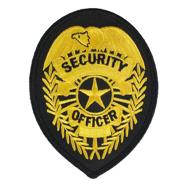 Security Officer Shield Patch