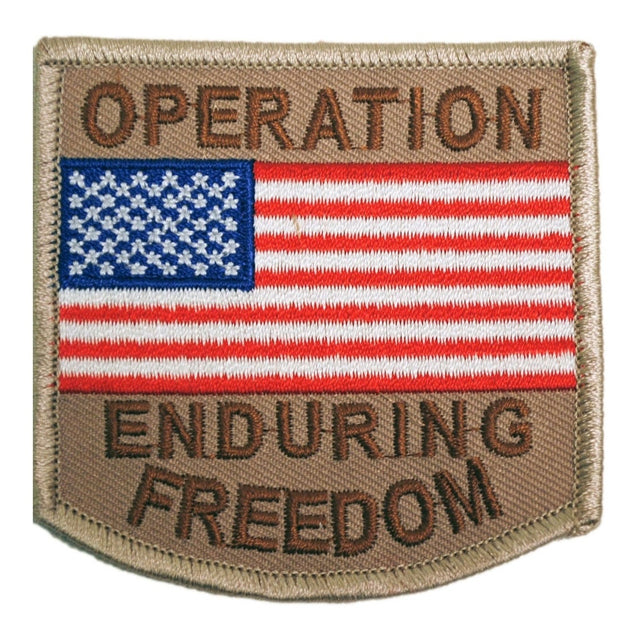 Operation Enduring Freedom U.S. Flag Patch