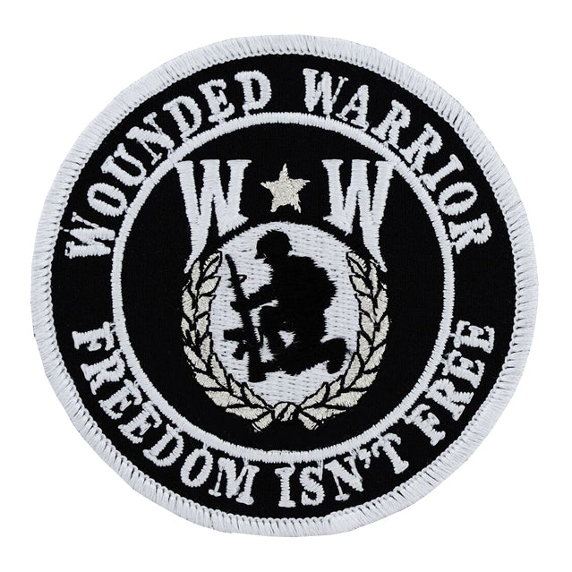 "Wounded Warrior ""Freedom Isn't Free"" Patch"