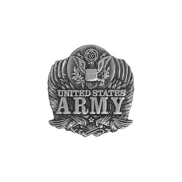 Pewter United States Army Eagle Pin