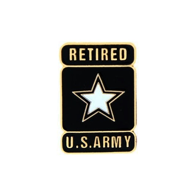U.S. Army Star Logo Retired Pin