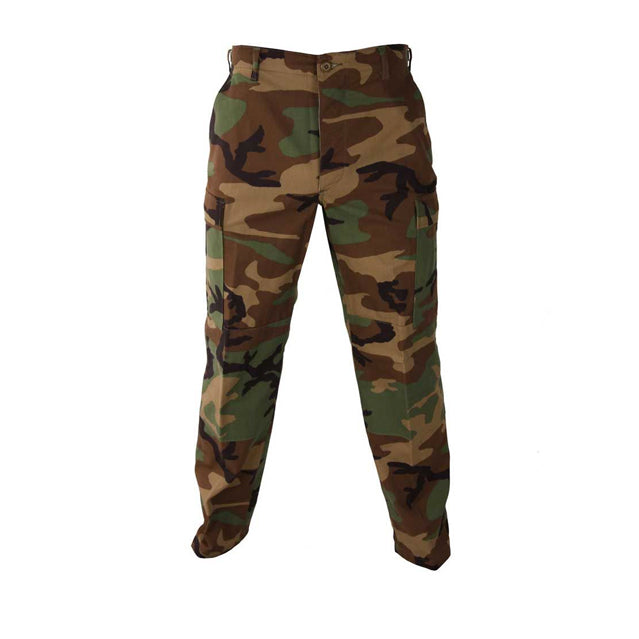 Woodland Camouflage BDU Trousers, New