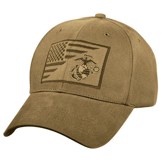 Marine Corps Eagle Globe & Anchor Hat, Coyote Brown