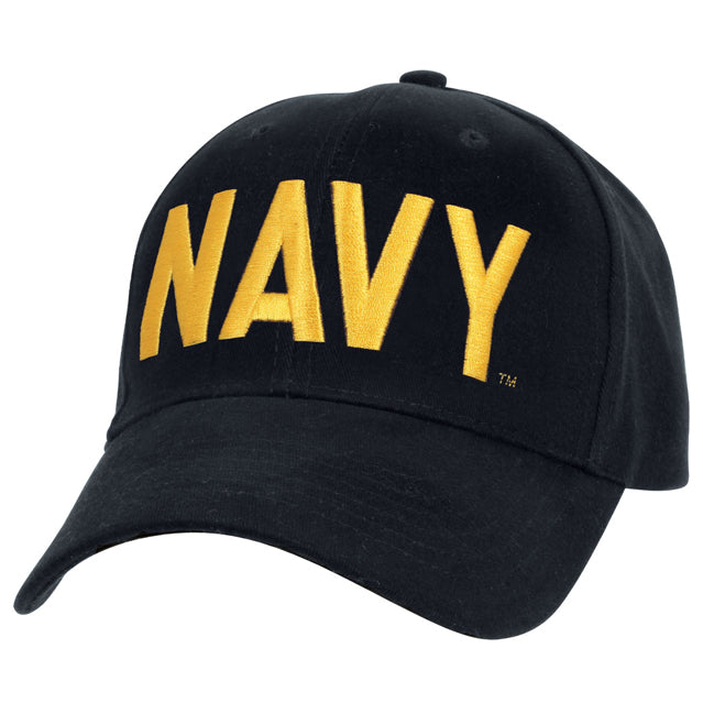 Official U.S. Navy Insignia Hat, Navy Blue