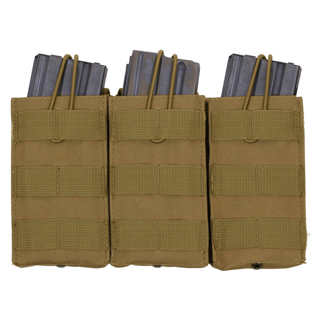 Triple Magazine Open Top Pouch, MOLLE