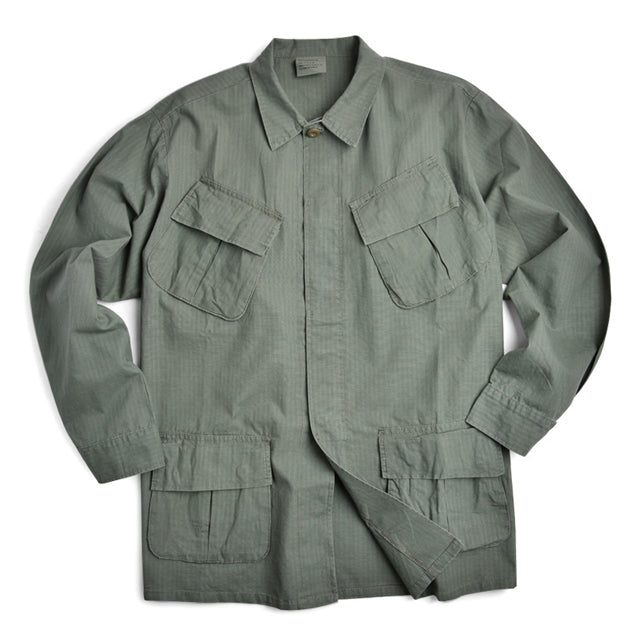 U.S. GI Jungle OD Green Fatigue Top, Vietnam War