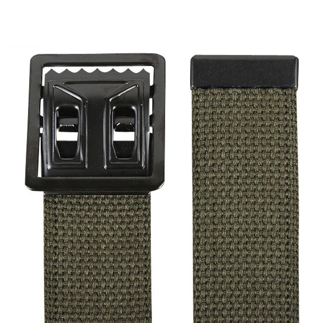 U.S. GI Vietnam War Web Belt, OD Green