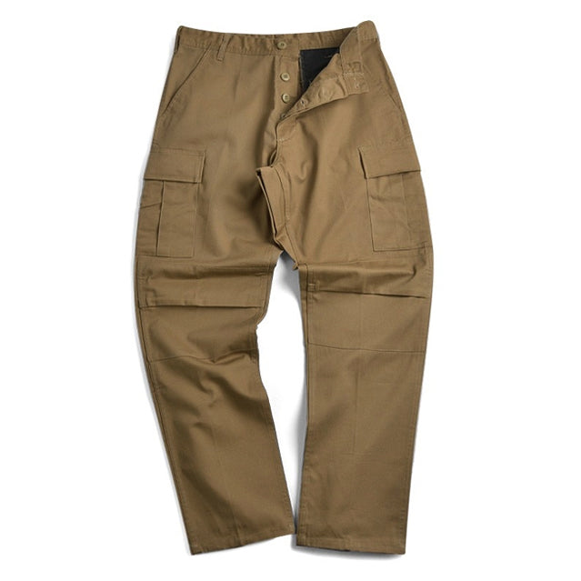 Coyote Brown BDU Cargo Trousers