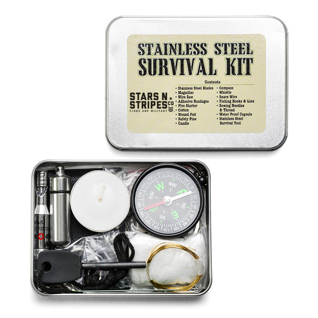 Stars-N-Stripes Emergency Survival Kit