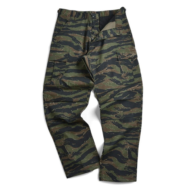 Tiger Stripe BDU Cargo Trousers