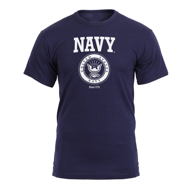 U.S. Navy Logo T-Shirt, Navy Blue