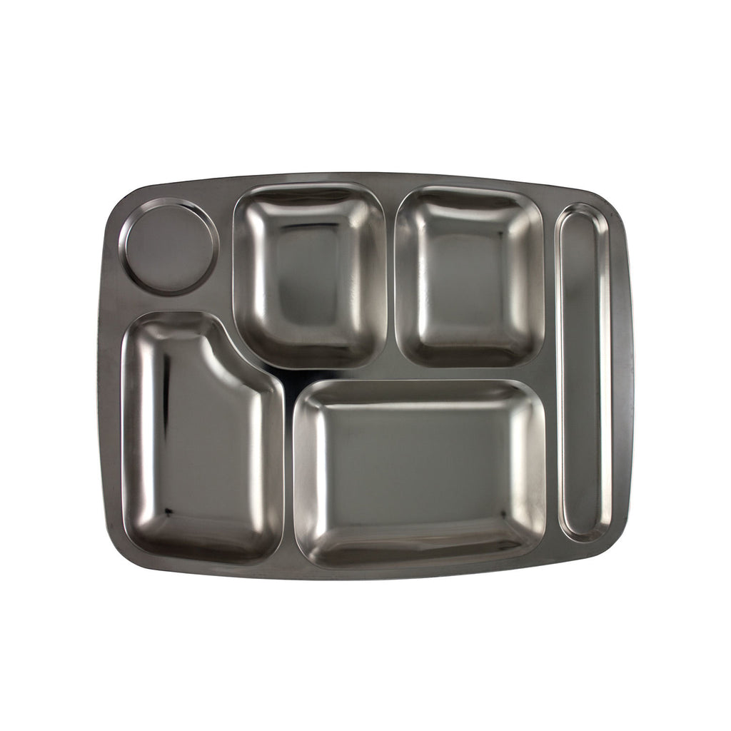 Military Food Tray, Metal