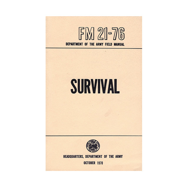 U.S. Army Survival Manual FM 21-76