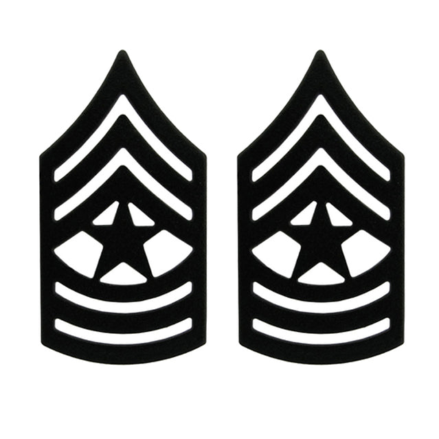 U.S. Army Sergeant Major (SGM) Pin-On Ranks, Subdued